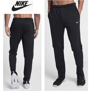 Nike Dry-Fit Slim Training Pants Green Med